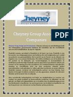 Cheyney Group Associate Companies