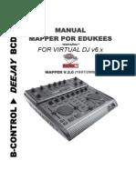Bcd2000 Manual Mapper by Edukees (Español)