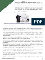 Administração e Organização de Empresas de Engenharia