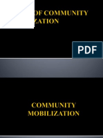 Basics of Community Mobilization