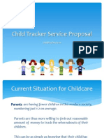 Child Tracker Service Proposal - Moratelindo