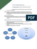 Enterprise Performance Management -Core Control Systems