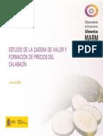 Estudio de La Cadena de Valor Del Calabacin España