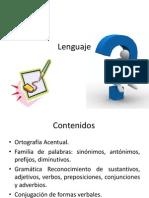 14854611 Lenguaje Acentuacion Gramatica Familia de Palabras