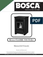 Manual Espanol PelletClassic500