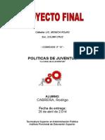 Ensayo Proyecto Final