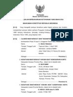 Putusan Mahkamah Konstitusi Nomor 35/PUU-X/2012