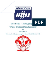 Vocational Training Report (BHEL)