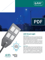 Q-RAY LED Street Lantern Datasheet_Eco-Lighting Technologies Pte Ltd