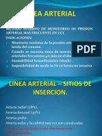 223094998 Linea Arterial en Uci