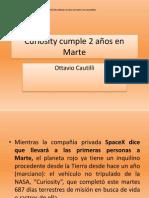 Curiosity cumple 2 años en Marte.pptx