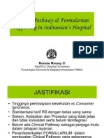31074411 Clinical Pathway Formularium Supporting in Indonesian s Hospital
