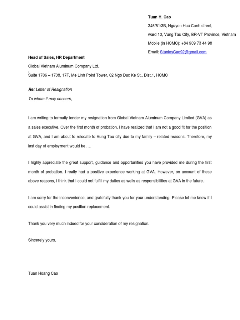 Resignation Letter Job Not A Good Fit from imgv2-2-f.scribdassets.com