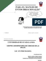 MANUAL para El Manejo de Pensamientos Irracionales.doc