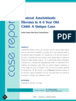 Bilateral Ameloblastic Fibroma in a 6 Year Old Child