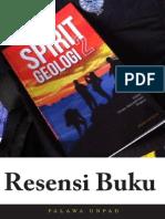 Resensi Buku Spirit Geologi  2