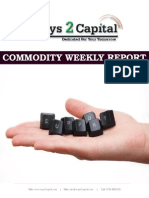 Commodity Report by Ways2Capital 30 June 2014