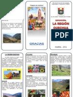 Triptico Region Quechua