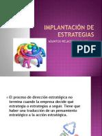 IMPLANTACIÓN DE ESTRATEGIAS Gerencia03.ppt