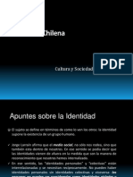 Cultura y Sociedad 2014_Identidad Chilena