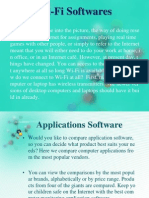 Wifi Softwares