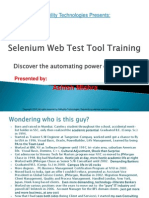 0Selenium Tutorial Day 1 - Selenium and IDE Overview
