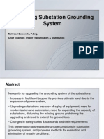 Upgrading Substation Grounding System