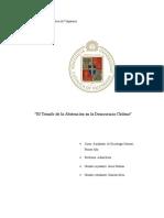 El Triunfo de La Abstención en El Chile Democrático-2003