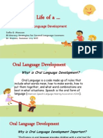 activity 7 oral language development activity