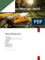 Tutorial OpenOffice Calc Part II