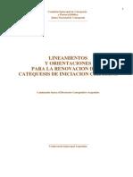 Lineamientos y Orientaciones Para La Ren. i.c.