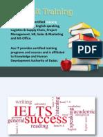 IELTS test preparation courses and classes in dubai