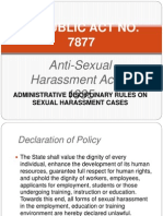 Sexual Harassment Act