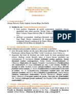 Bibliografie Clasa a XII-A 2010
