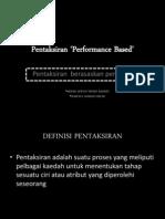 Pentaksiran 'Performance Based' (Nasuha & Izwan)