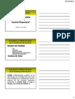 Control Gestion y Control Financiero