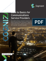 Back to Basics for Communications Service Providers
