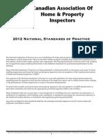 2012 Standards of Practice Code of Ethics
