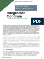 La Arquitectura de Aplicaciones de Código Abierto_ Integración Continua