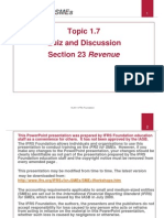 17 Revenue Quiz and Discussion Version2011 01