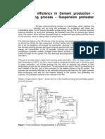 Calcining Process Suspension Preheater