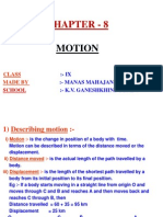 8 Motion physics 9th