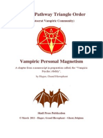 Hagur - Vampiric Personal Magnetism