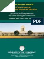 11 MCA Info Brochure 2009