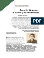 Antonio Gramsci. La Cultura y Los Intelectuales. Arnaldo Cordova