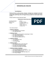 Spesifikasi Teknis Sd 2 Lokal