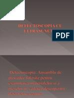 Defectoscopia Cu Ultrasunete