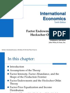 international economics ppt chapter 5 | International