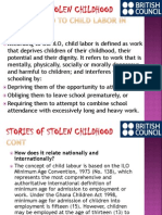 Stories of Stolen Childhood by KOSS Model