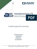 AlphaSystematic FX Multi Strategies Programme